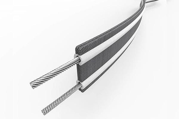 Технология Carrysafe straps with Dyneema в рюкзаке Pacsafe
