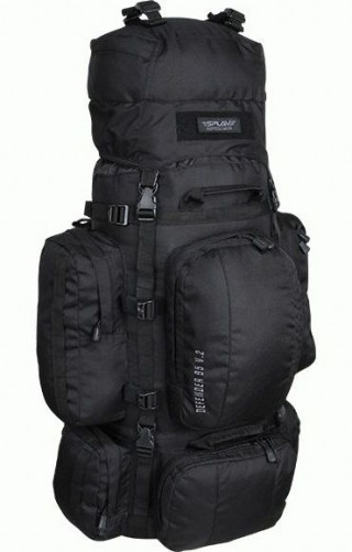 "Рейдовый рюкзак SPLAV ""Defender 95 v.2"" Черный"