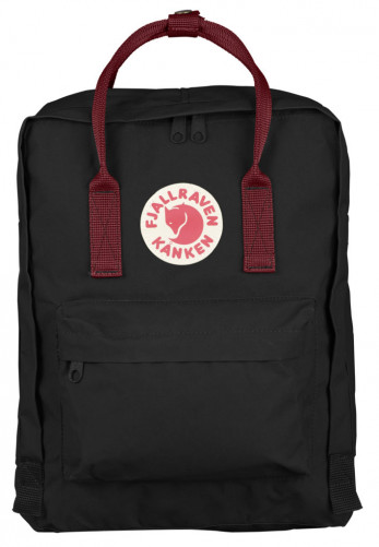 Рюкзак Fjallraven Kanken Classic Black/OX RED