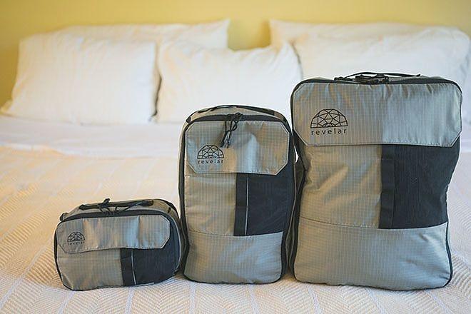 1db39f15144d Функциональность их сумок ещё более повышена, при этом вы можете брать с  собой только то, что вам действительно нужно. Сумки Revelar Workshop  Cubepacks ...