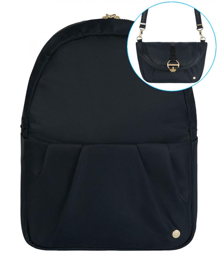 f5c5c426dbba Рюкзак-сумка с защитой от краж PACSAFE Citysafe CX Covertible черный ...