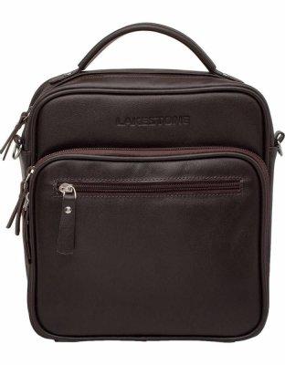 37661bfca8da Мужские сумки через плечо коричневого цвета купить в Москве в ...