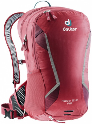 Велорюкзак Deuter Race EXP Air New 14+3L (бордовый)